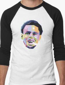 Steph Curry ART Men's Baseball ¾ T-Shirt