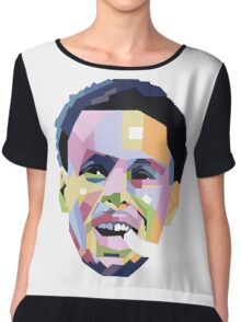 Steph Curry ART Chiffon Top