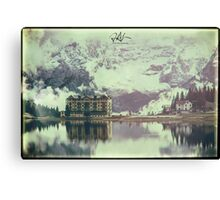 Misurina lake in the dolomiti Canvas Print