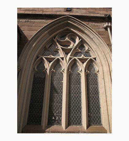 St John's Kirk window Photographic Print