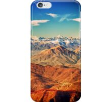 italian mountains in the winter iPhone Case/Skin