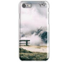 bench for a peaceful rest iPhone Case/Skin