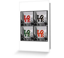 LOVE 4 ALL Greeting Card