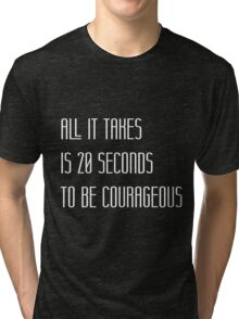 All it takes is 20 seconds Tri-blend T-Shirt