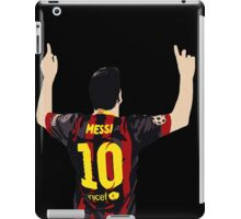 Messi after GOAL!! iPad Case/Skin