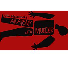 otto preminger's anatomy of a murder Photographic Print