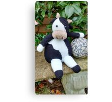 Stop mooing around Canvas Print