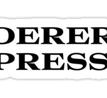 Roger Express Sticker