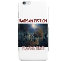 Ramsay Fiction 80s Vibe iPhone Case/Skin
