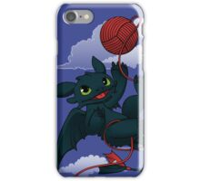Dragons just wanna get fun - day version iPhone Case/Skin