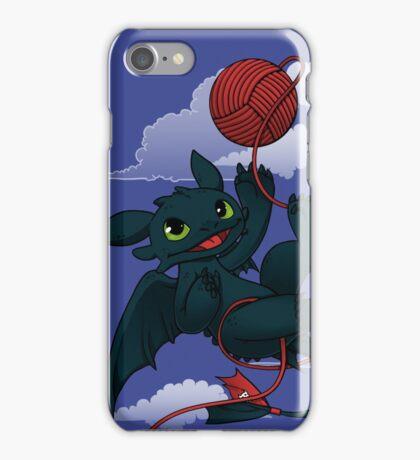 Dragons just wanna get fun - day version iPhone Case/Skin