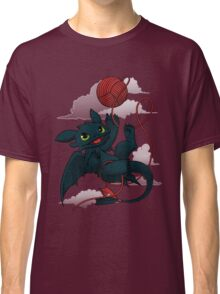 Dragons just wanna get fun - day version Classic T-Shirt