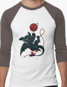 Dragons just wanna get fun - day version Men's Baseball ¾ T-Shirt