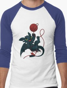 Dragons just wanna get fun - day version Men's Baseball ¾ T-Shirt
