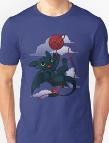 Dragons just wanna get fun - day version Unisex T-Shirt