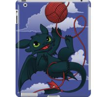 Dragons just wanna get fun - day version iPad Case/Skin