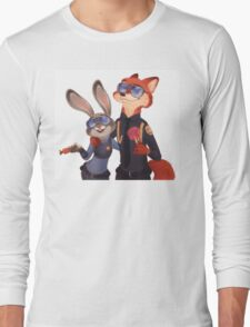 Nick and Judy Long Sleeve T-Shirt