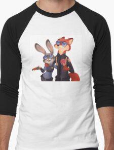 Nick and Judy Men's Baseball ¾ T-Shirt
