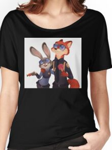 Nick and Judy Women's Relaxed Fit T-Shirt