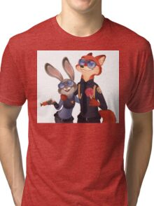 Nick and Judy Tri-blend T-Shirt