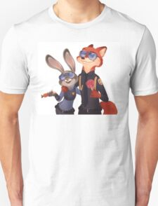 Nick and Judy Unisex T-Shirt