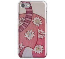 Floral Feline! iPhone Case/Skin