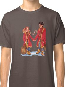 Quidditch Harry and Ginny Classic T-Shirt