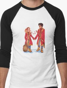 Quidditch Harry and Ginny Men's Baseball ¾ T-Shirt