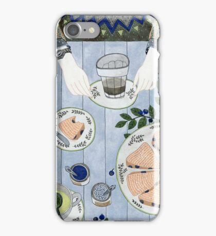 Blueberry Scones iPhone Case/Skin
