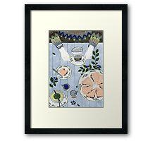 Blueberry Scones Framed Print