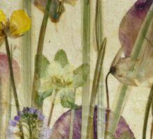 Victorian Meadow closeup Sticker