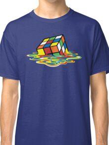 Melting Rubick's Cube - Sheldon Cooper T-Shirts Classic T-Shirt