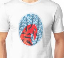 Smug red horse portrait Unisex T-Shirt