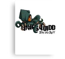 OFFICIAL INKSQUIDD - SINK OR SWIM   Canvas Print