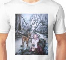brother and sister steampunk art Unisex T-Shirt