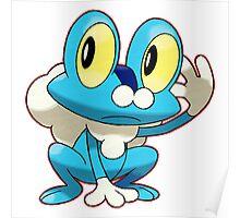 Blue Pokemon Poster