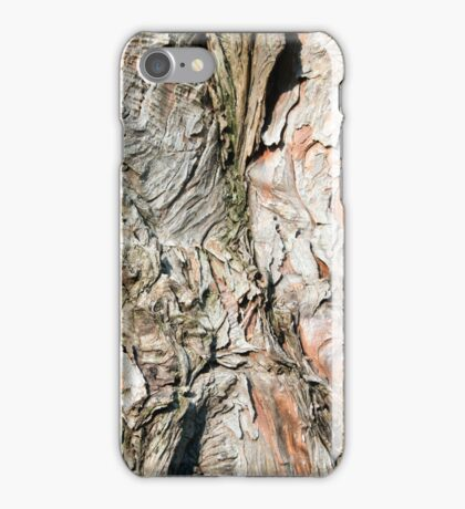 Tree Bark Weathered Texture iPhone Case/Skin