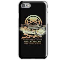 Mr Fusion - variant iPhone Case/Skin
