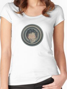 Creepy Peter Cushing Women's Fitted Scoop T-Shirt