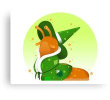 Slug Wizard Canvas Print