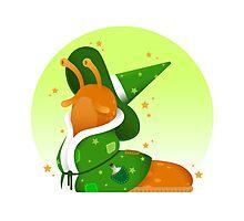 Slug Wizard Photographic Print