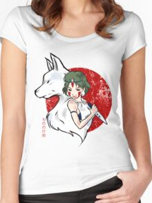 Wolf Blood Women's Fitted Scoop T-Shirt