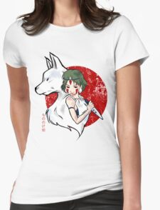 Wolf Blood Womens Fitted T-Shirt
