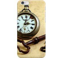 Clock N Keys iPhone Case/Skin