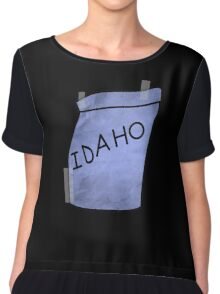 I'm Idaho - Ralph Wiggum Chiffon Top