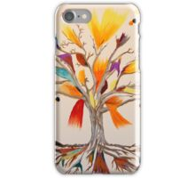 The Vibrant Colour Tree iPhone Case/Skin