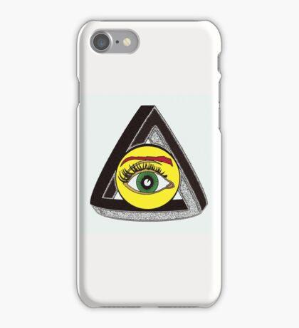 THE EYE OF PENROSE 1 iPhone Case/Skin