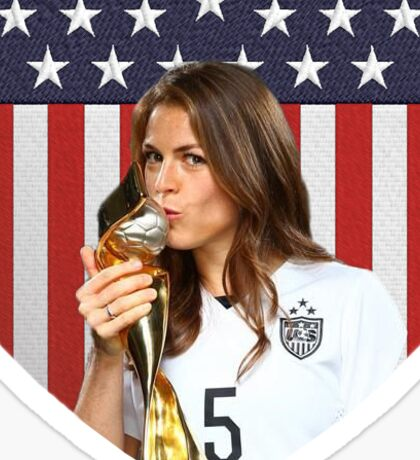 Kelly O'Hara World Cup Sticker