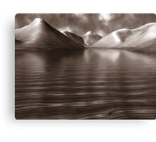 Wastwater Abstract Art Canvas Print