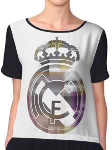 Tribute to Real Madrid   Chiffon Top